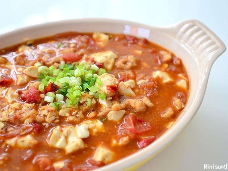 蕃茄麻辣豆腐煲