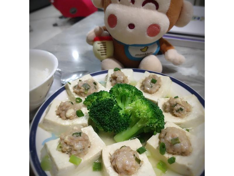 易學料理的「豆腐鑲肉」