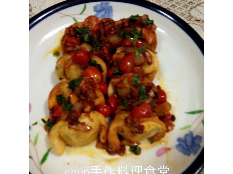 義式蕃茄炸米水餃(華師父水餃)