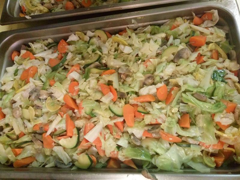 素菜-蒜香什錦素菜·