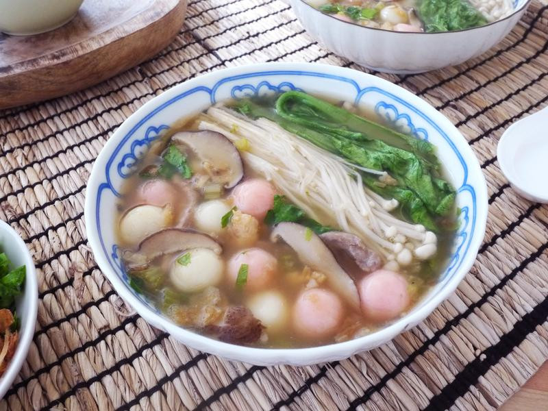 QQ客家鹹湯圓【全聯24節氣料理】
