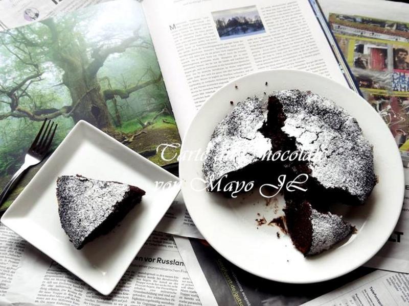 法國 經典巧克力蛋糕