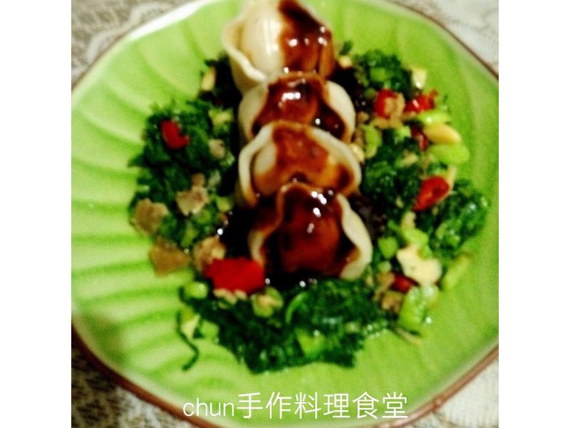 雪菜麻婆米水餃(華師父水餃)