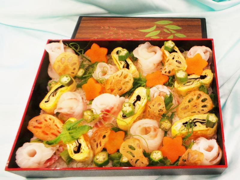 秋分台灣鯛散壽司