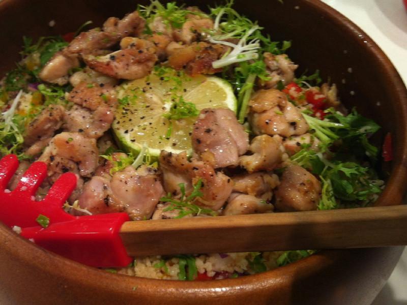 摩洛哥小米雞肉沙拉