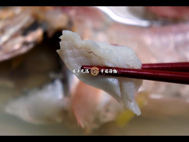 【幸福海物】紅飛刀薑絲清湯