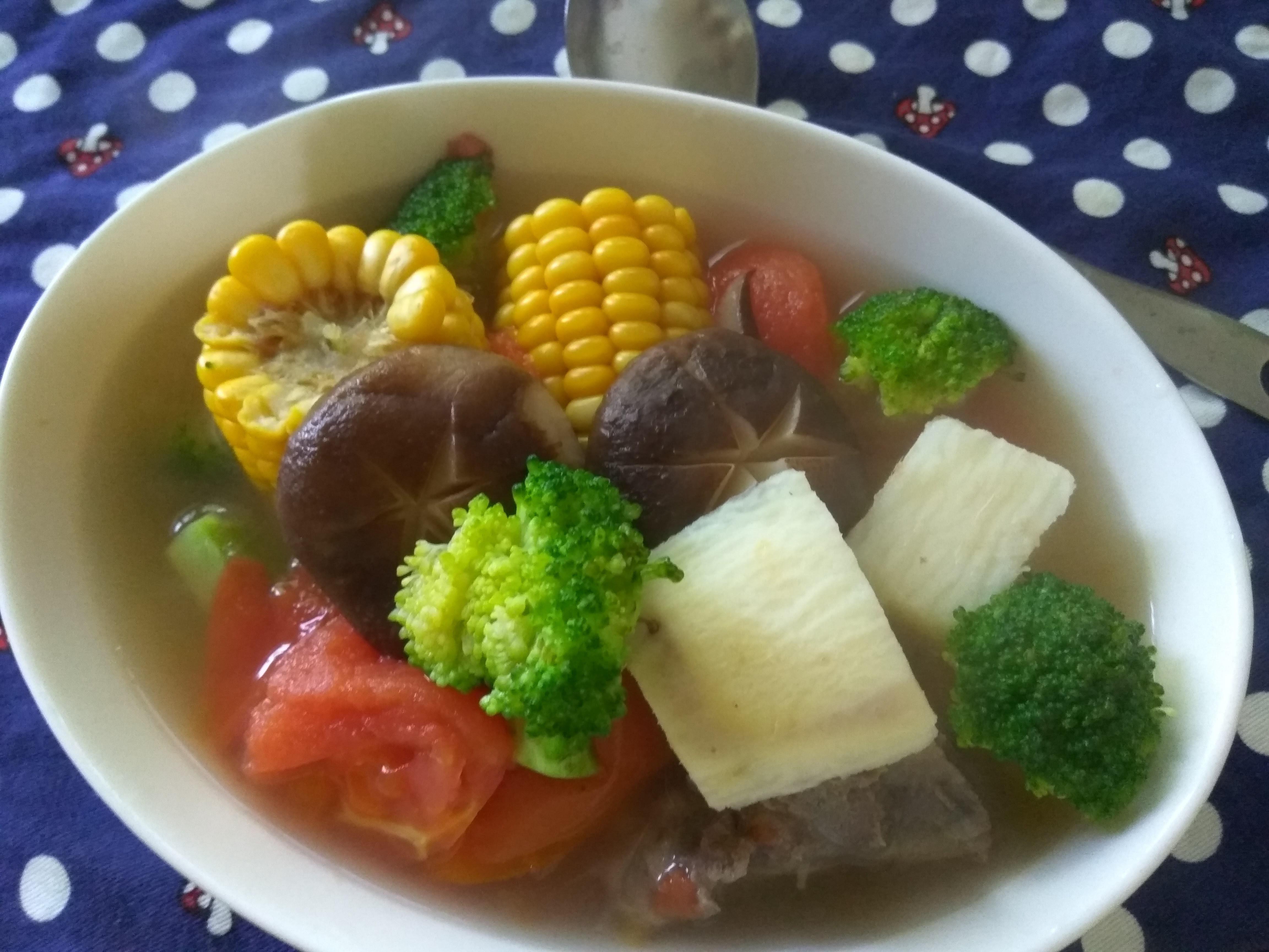 天然大補品─五行蔬菜湯(燜燒鍋版)