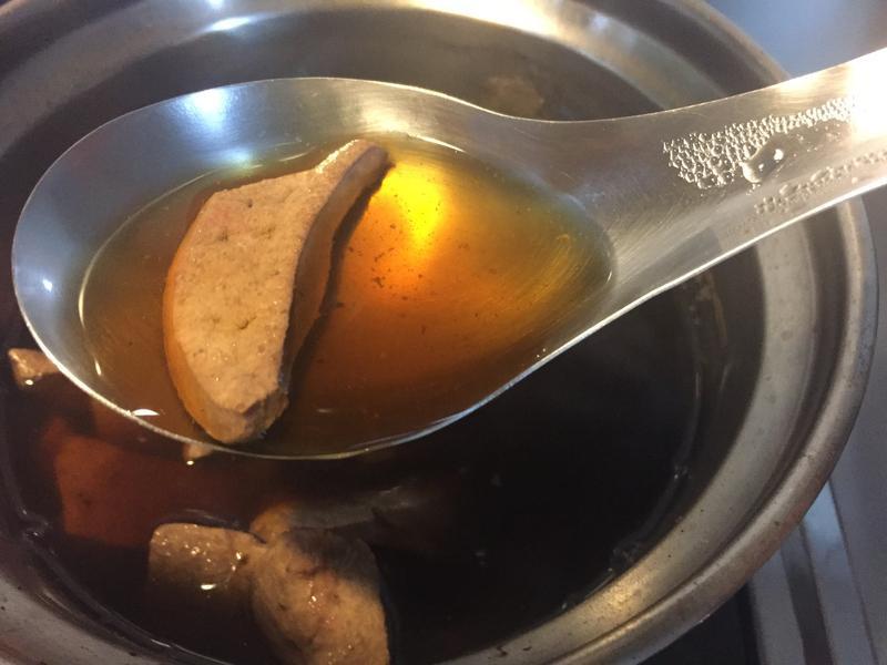 黑糖豬肝湯-去痘排毒