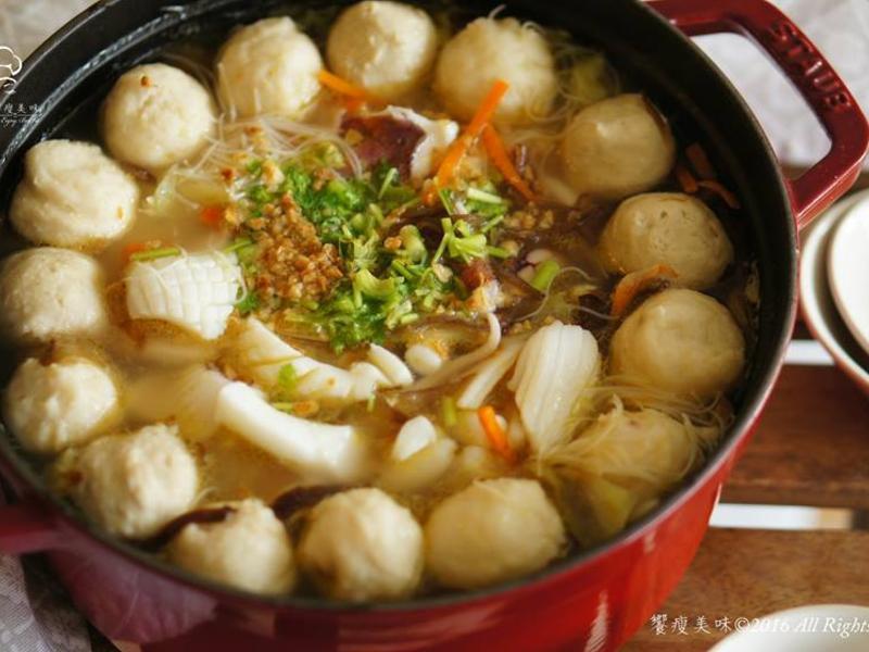 饗瘦美味-軟絲米粉湯