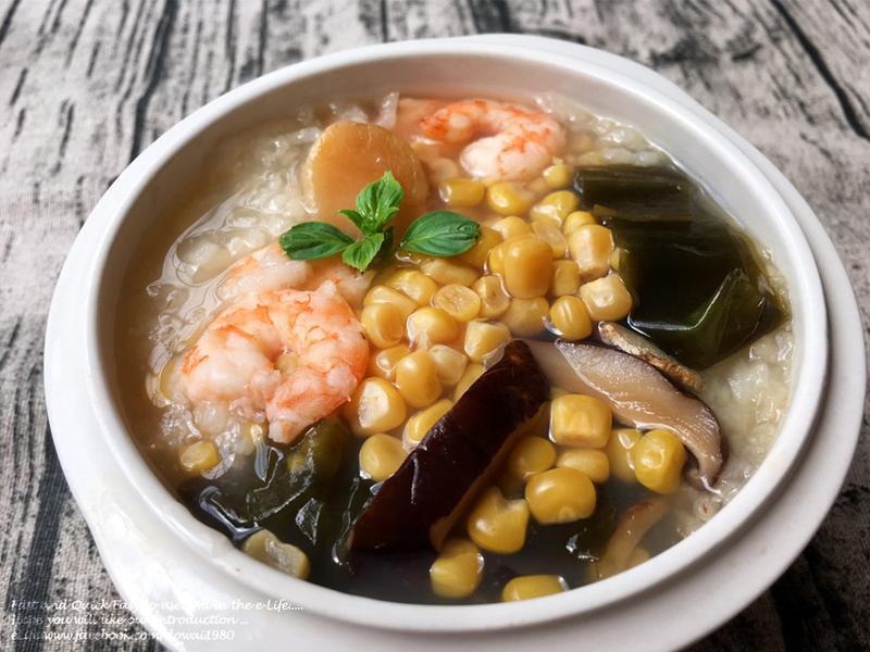 寶寶版『海鮮粥』2歲以上~蒸健康寶寶鍋