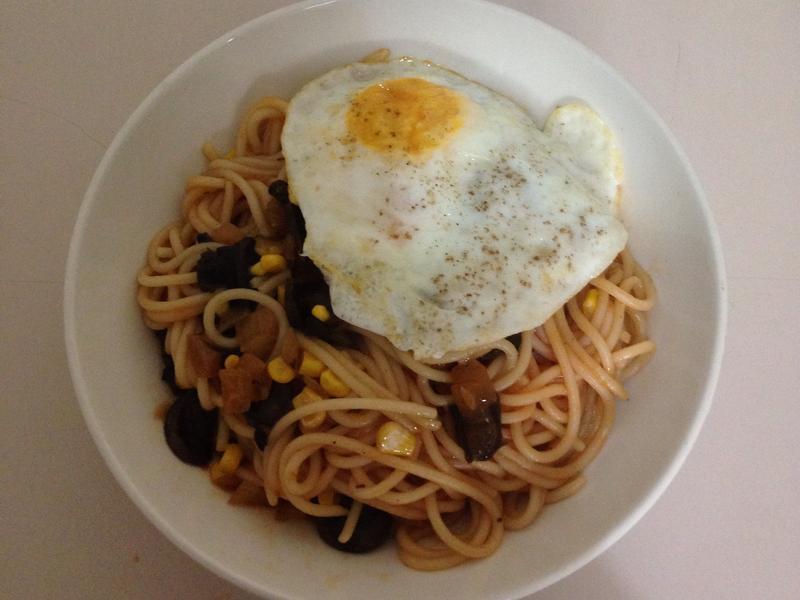 早餐店蘑菇鐵板麵