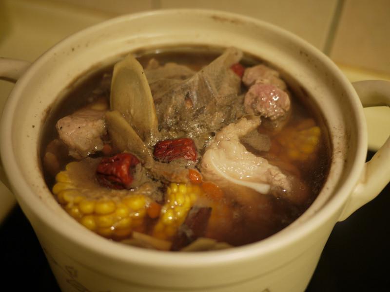 許效有約~icook 藥燉玉米排骨湯!