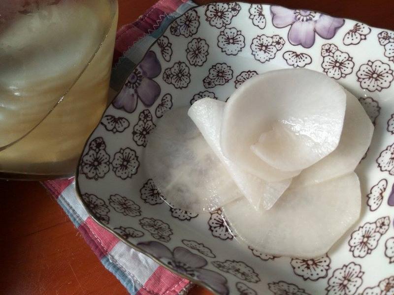 蜜漬白玉泡菜