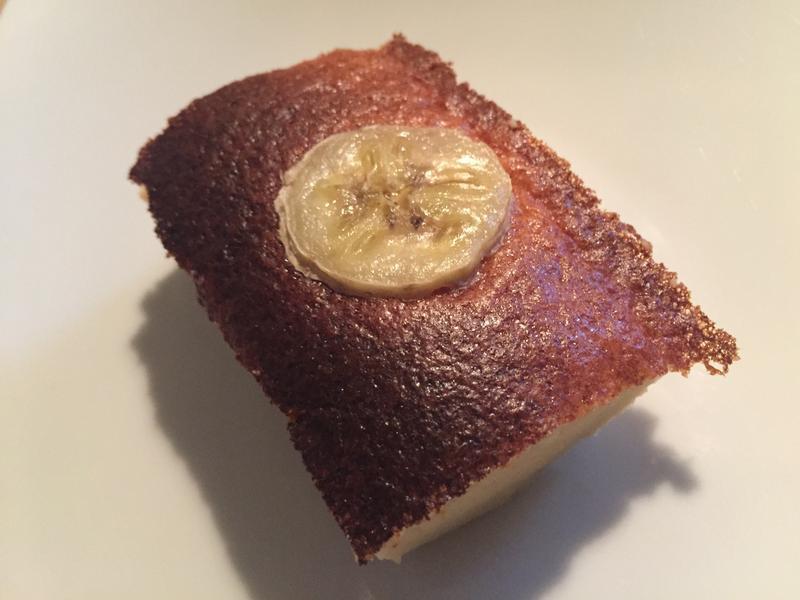 香蕉蜂蜜蛋糕(無麩質)