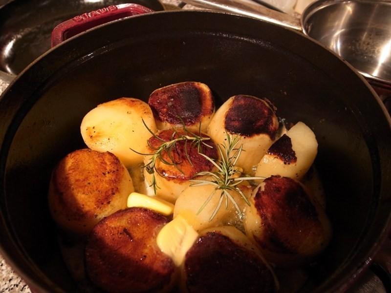 脆,香,嫩三合一的方旦馬鈴薯(fondant potato篇)