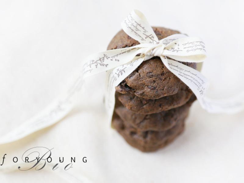 黑蒜巧克力手工餅乾