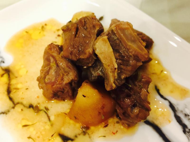 肉桂蘋果燉牛肉