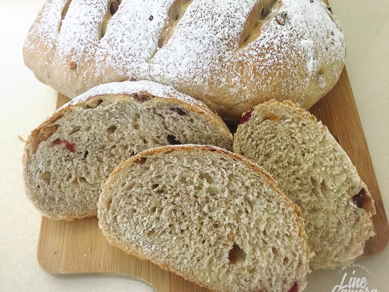 歐式全麥核桃蔓越莓麵包