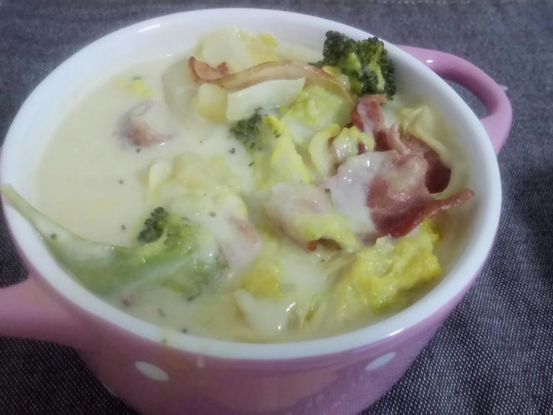 ❤平底鍋料理 ❤零廚藝奶香好味燉白菜