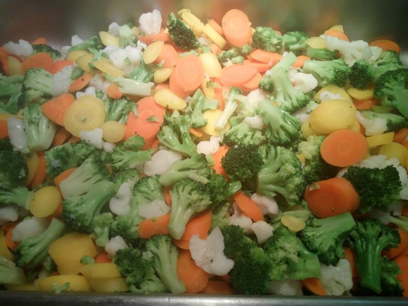素菜-沙茶醬花椰菜蔬
