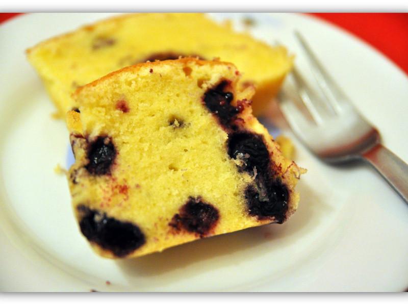 藍莓鎊蛋糕