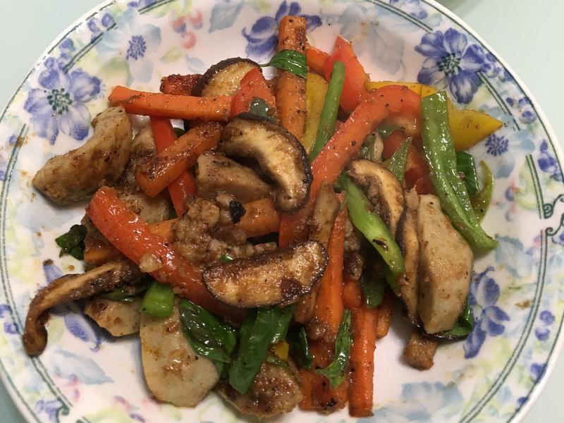 沙茶香菇家常菜