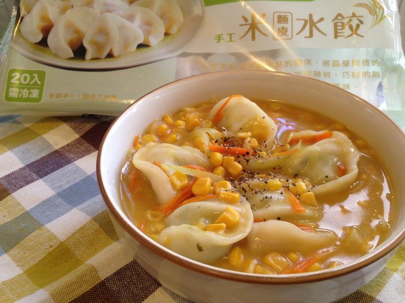 黃金玉米湯餃【華師父水餃】