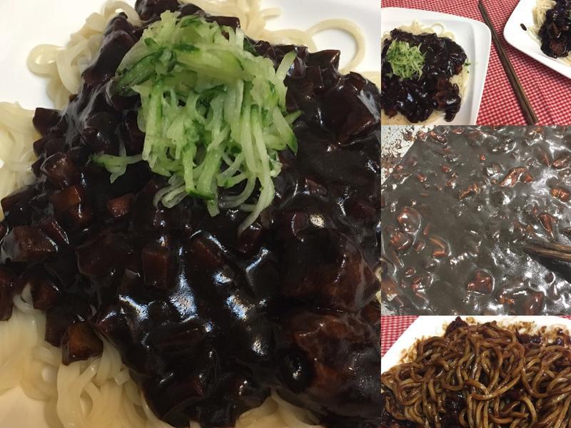 韓式炸醬麵【福壽純芝麻油玩料理】