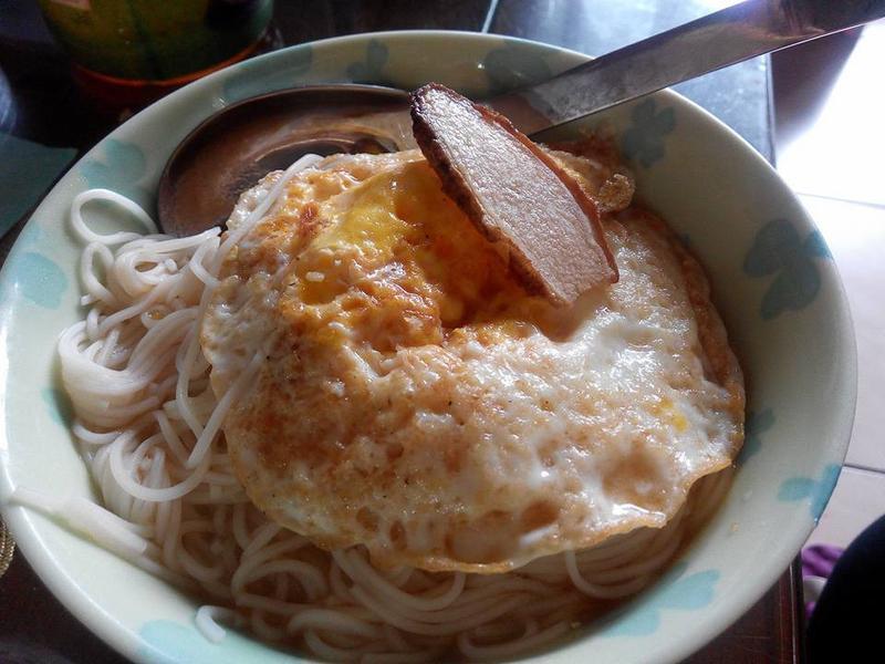 麻油蛋麵線