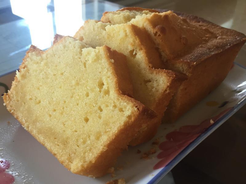 煉乳磅蛋糕