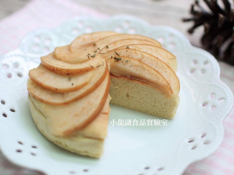 寶寶食譜【烤蘋果蜂蜜蛋糕】