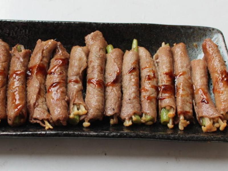 金針菇牛肉捲