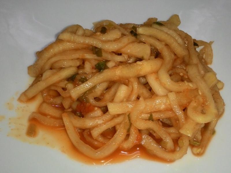韓式涼拌蘿蔔絲