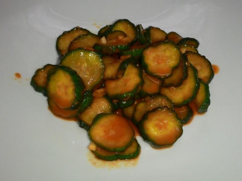 韓式涼拌小黄瓜