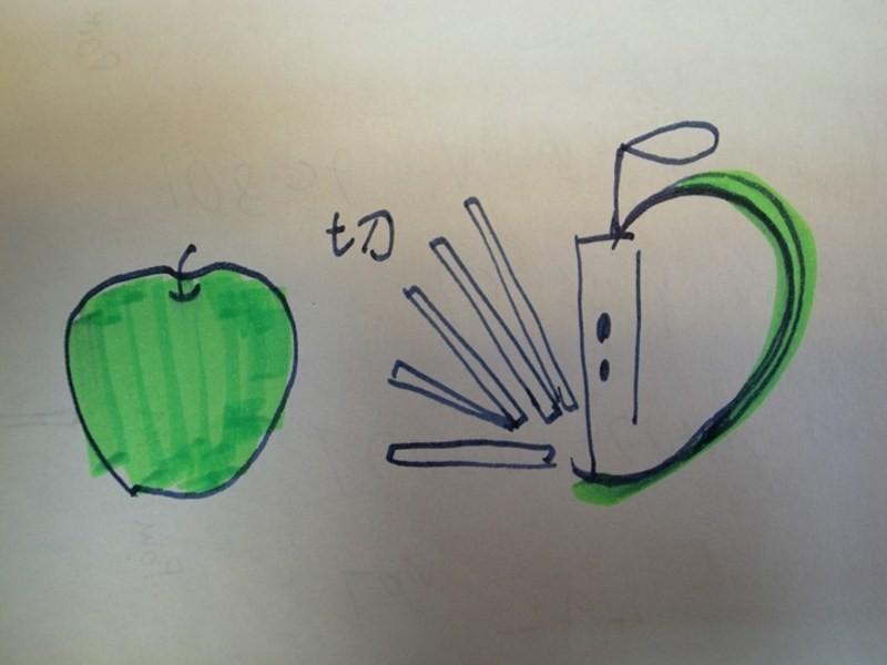 超簡單蘋果醬汁(配合蜜封鴨)