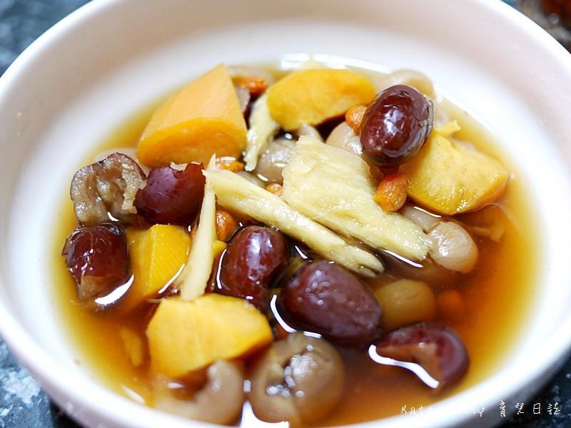桂圓紅棗茶&黑糖薑母地瓜甜湯