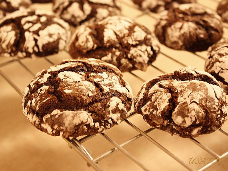 【甜牙齒】藝術般的瑕疵-巧克力雪餅Chocolate Crinkles