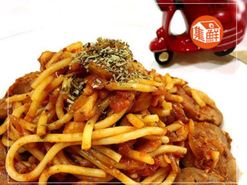 【集鮮屋】茄汁香腸義大利麵