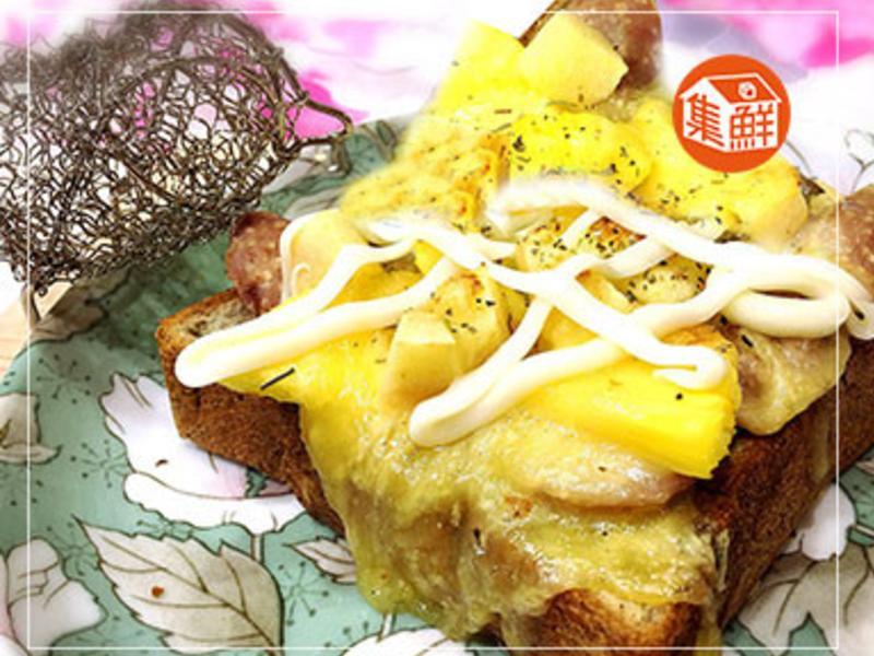 【集鮮屋】鮮果乳酪香腸厚片