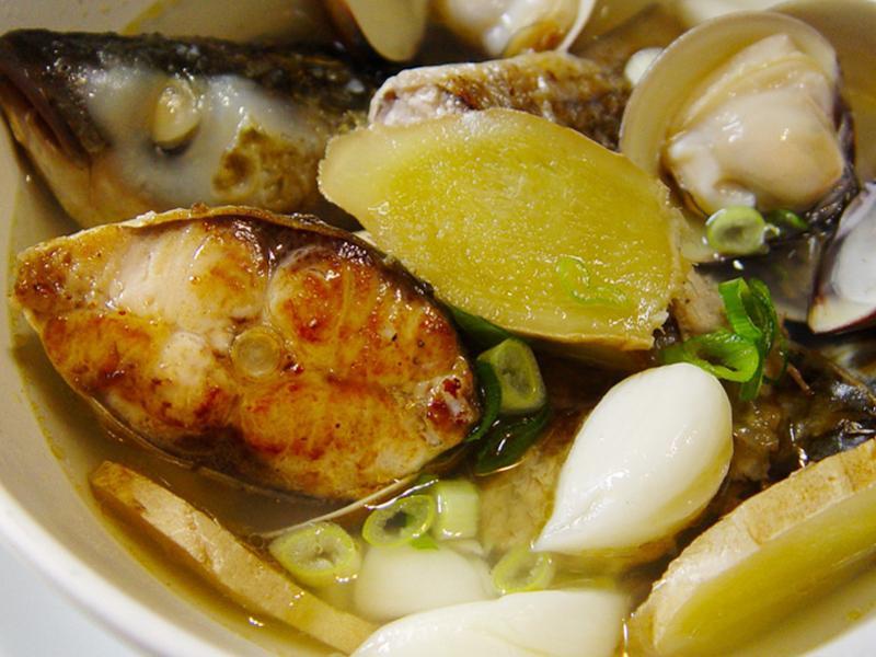 【厚生廚房】烏魚蛤蜊鮮湯