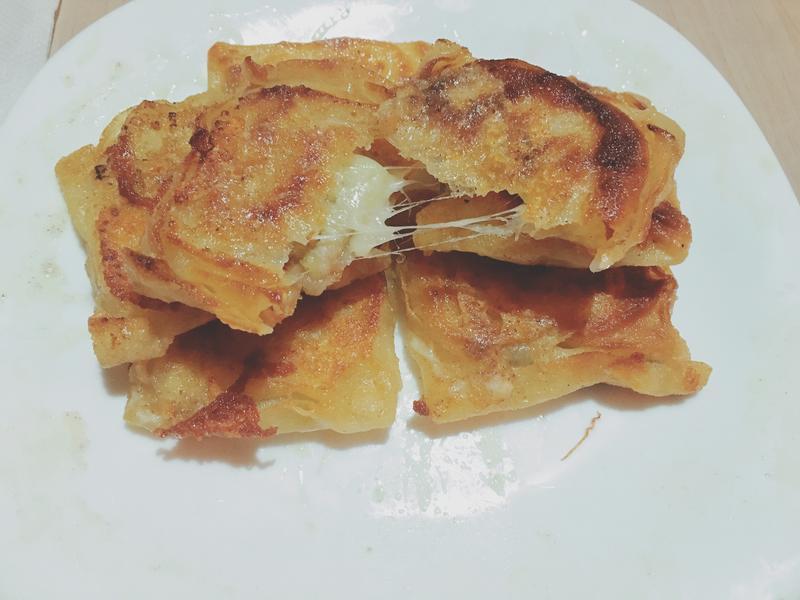 香蕉乳酪脆餅