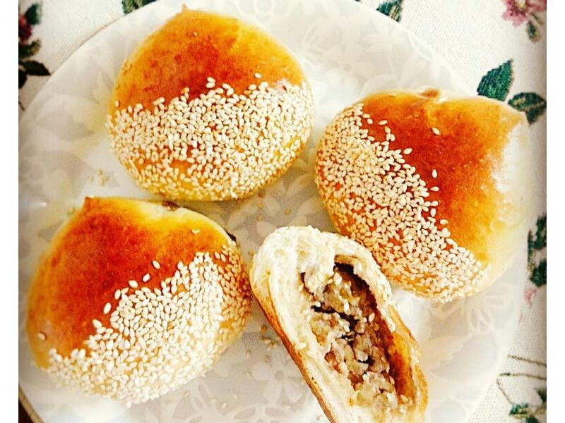 栗子麵包一超可愛,聖誕甜點