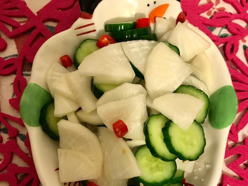 應景料理糖醋黃瓜蘿蔔