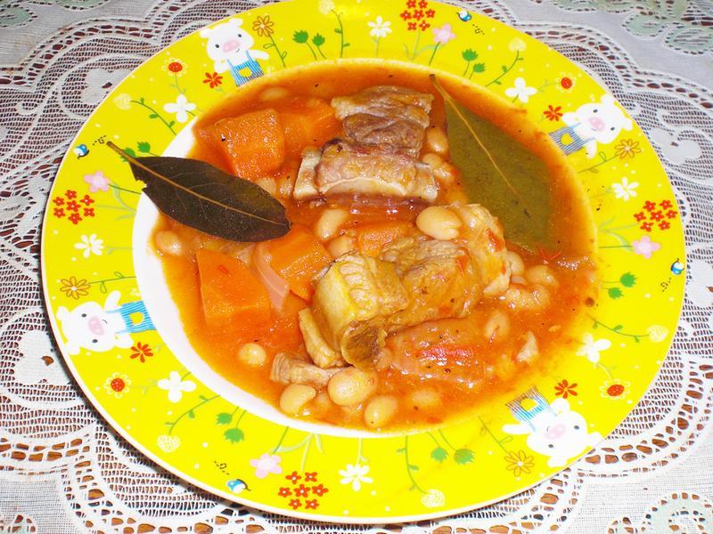 法式鄉村菜--白豆燉肉
