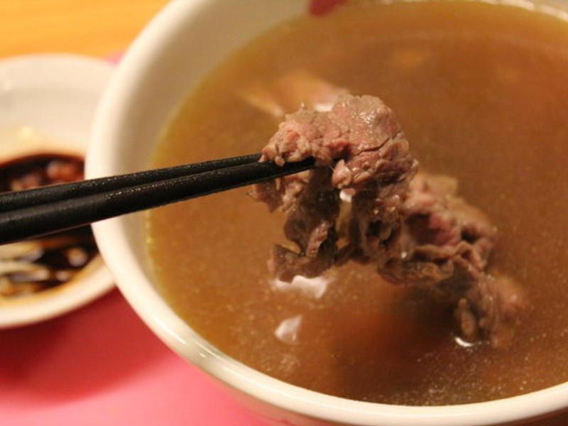 小牛高湯、台南牛肉湯