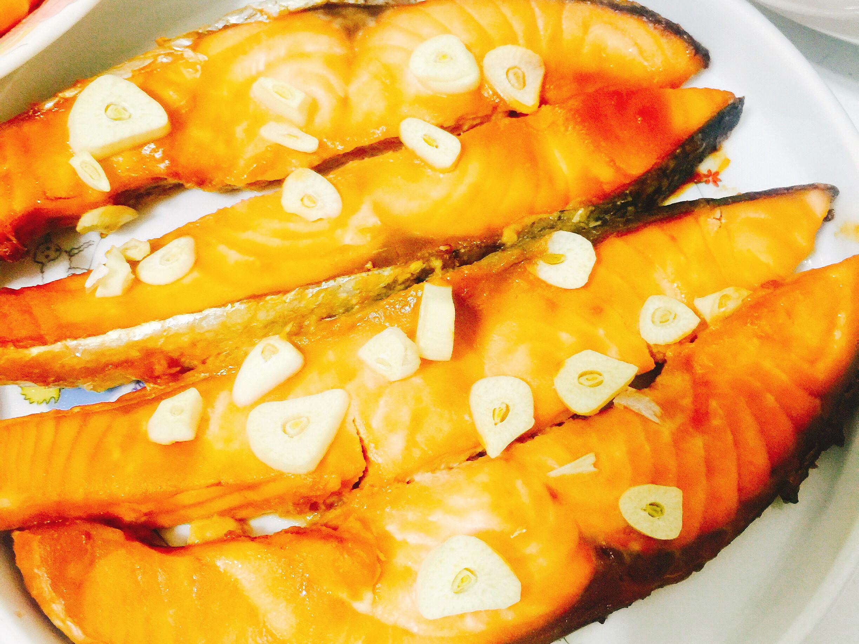 日式味噌烤鮭魚