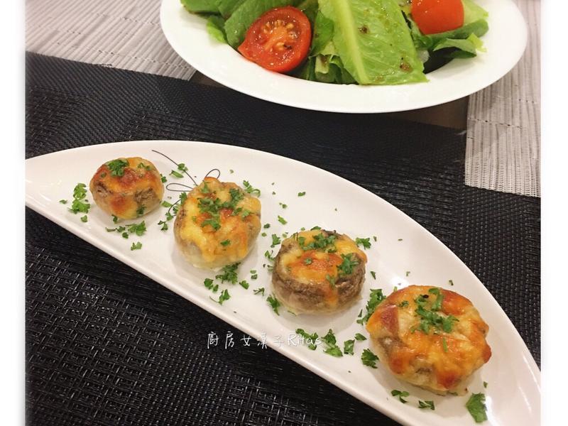 焗烤蘑菇蛋