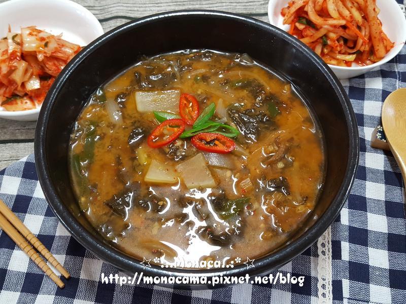 韓式菜乾大醬湯시래기된장국