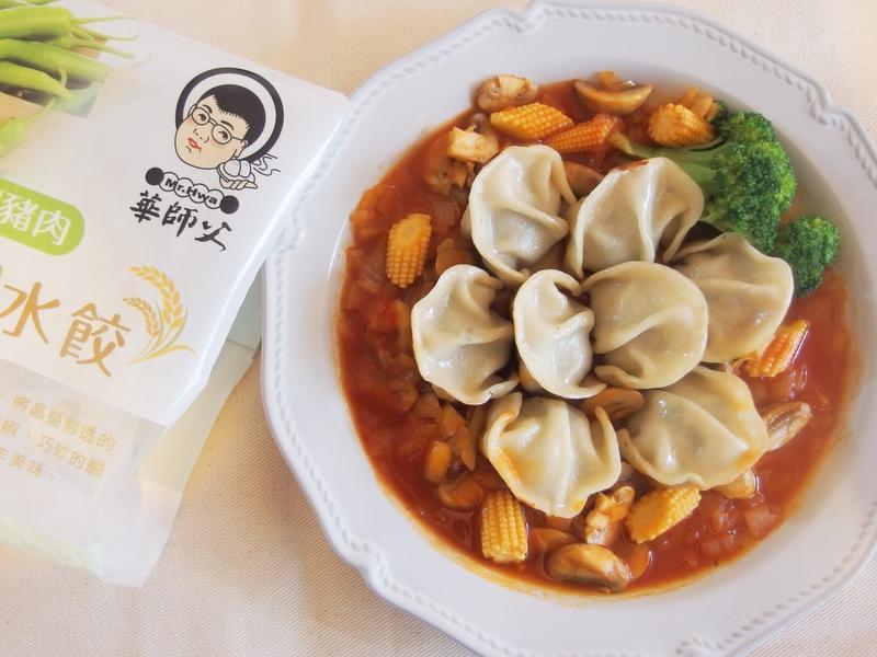 花團錦簇-糖醋煎餃【華師父水餃】