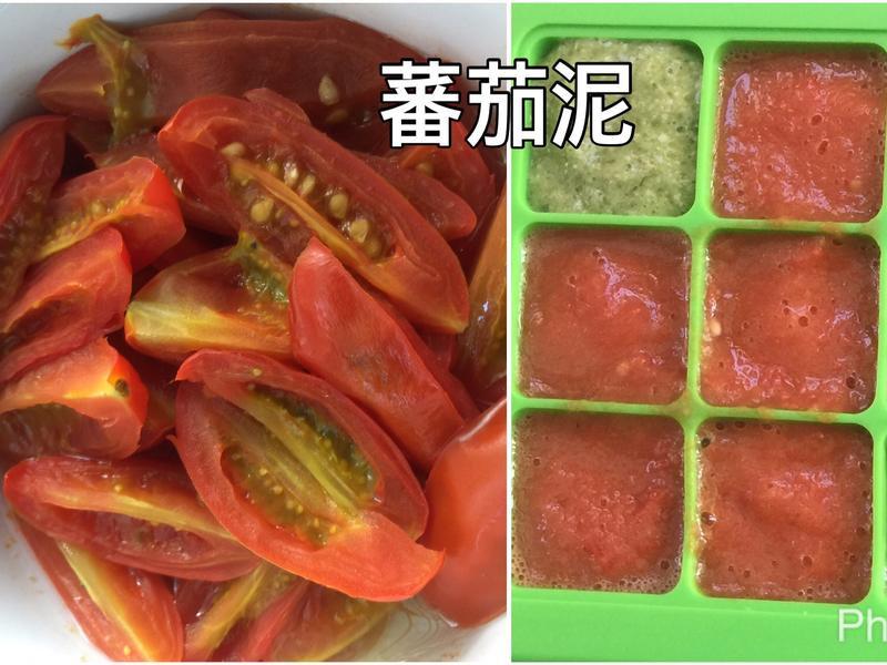 蕃茄泥(寶寶副食品六個月冰磚)